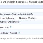 Der Google-Anzeigenvorgaben-Manager: Targeting nach Demographie & Interessen möglich