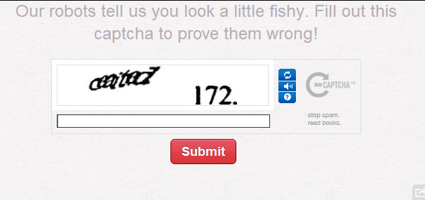 Pinterest SPAM-Schutz Fishy