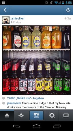 Jamie Olivers Kühlschrank