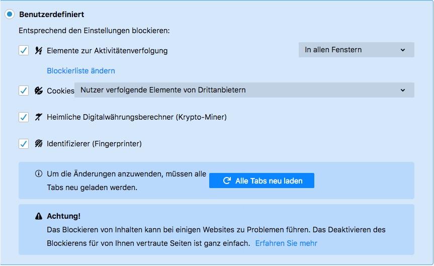 Third-Party-Cookies funktionieren auch im Firefox nicht und bald noch viel weniger!